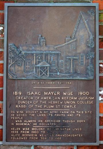 Palque on the Site of the Isaac Wise Farm on Goodman Avenue.png